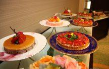 おもてなしのデザートビュッフェは、ゲストのみんなに大人気♪