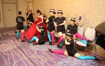 新婦教え子さん達による圧巻のパフォーマンス!!新婦様も一緒にダンスで盛り上がり~♪