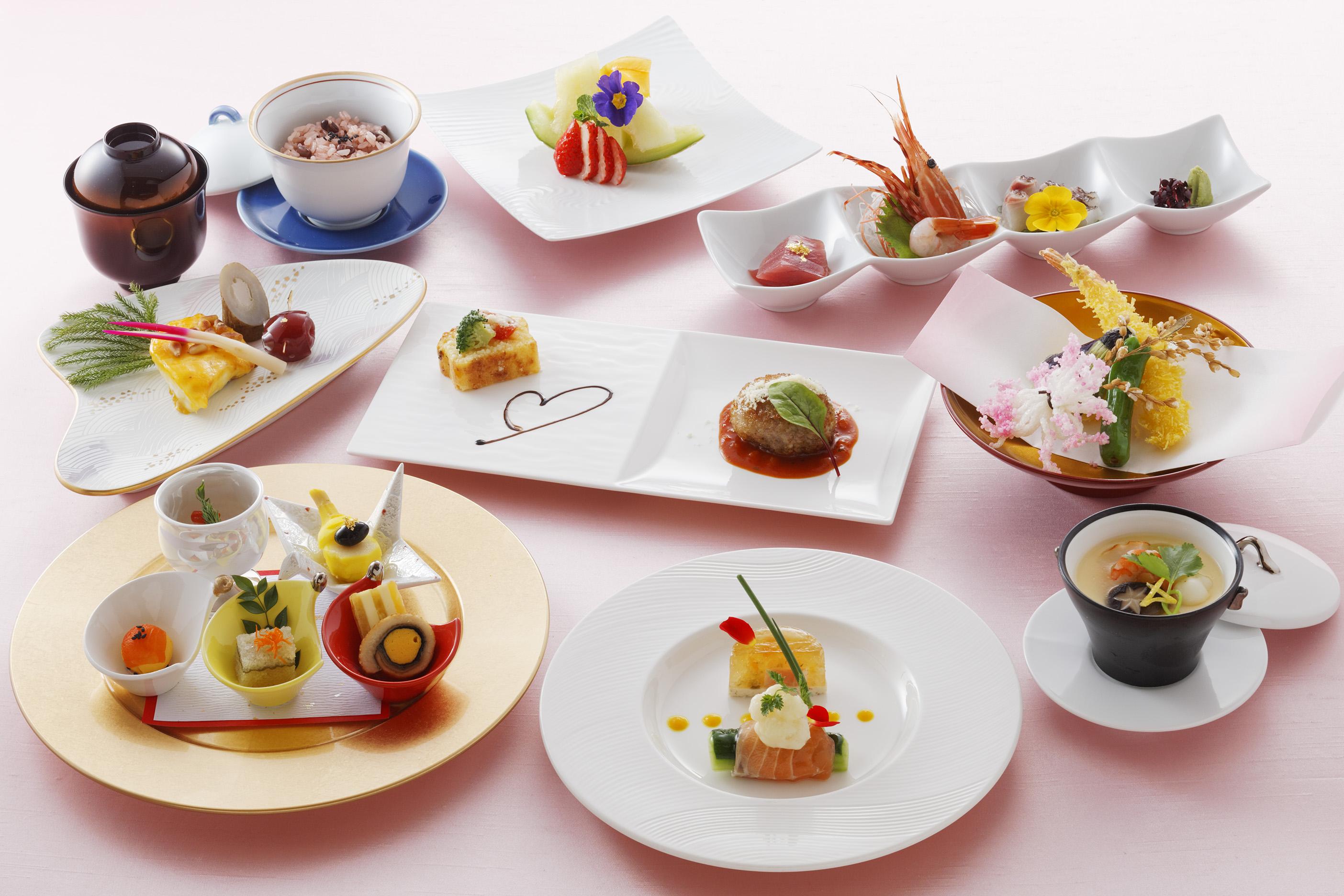 寿和洋会席料理 イメージです